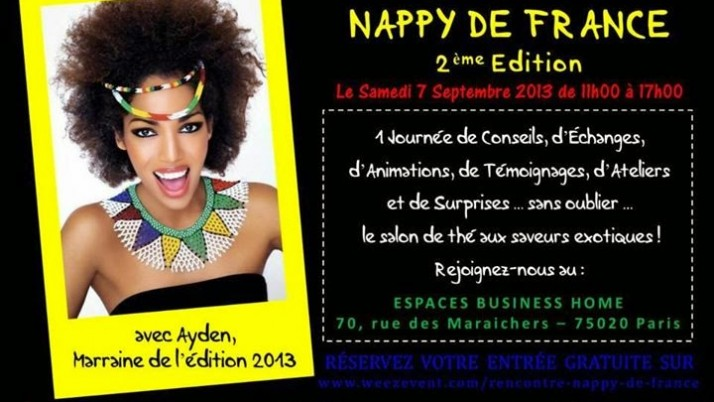 NAPPY DE FRANCE Edition 2013
