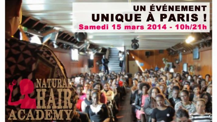 Envol à la NATURAL HAIR ACADEMY 2014