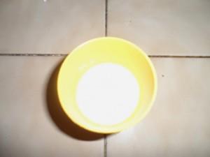 1 Verre de lait de Coco