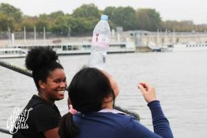 Stéphanie pris en flagrand delit de connerie (c'est elle qui me l'a dit) Crédit photo: BOOTCAMP GIRL