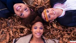 Audrey, Axelle et Layla