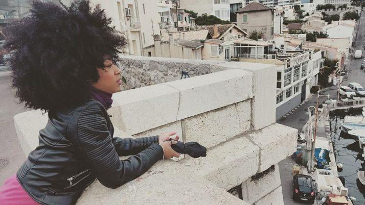 La pousse du cheveux Afro