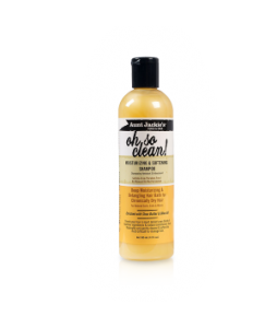 Oh So Clean! Shampooing Hydratant et Adoucissant de Aunt Jackie's ( Tante Jackie) Traitez vos cheveux secs avec cette mousse riche, hydratante. Enrichi en huile de coco, beurre de karité et huile d'olive vierge, cheveux deviennent très propres, doux, hydratées et plus faciles à coiffer.