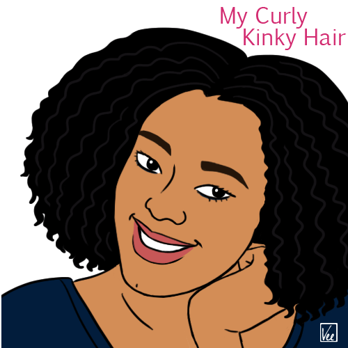 my curly-kinky hair