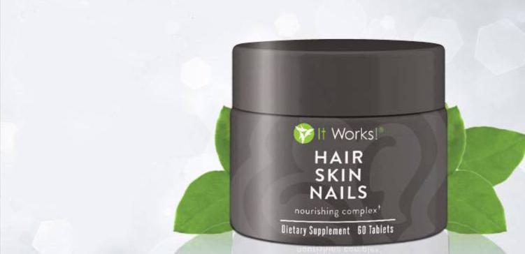Hair skin nails |It Works