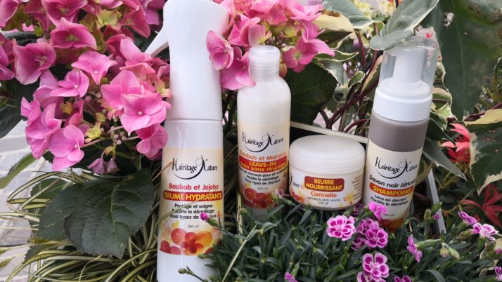 Hairitage Nature: Une gamme 100% naturelle made in Martinique