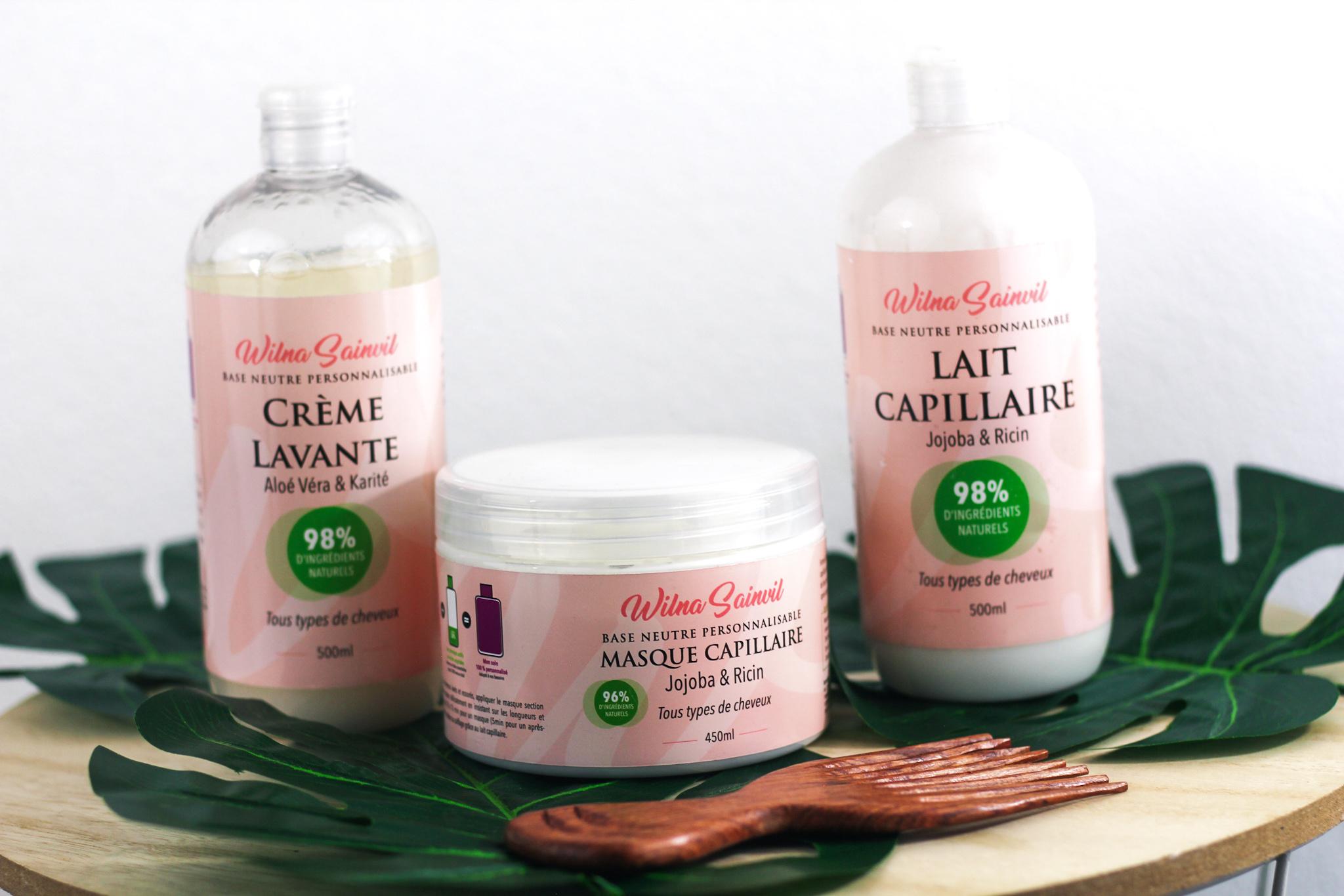 Des soins capillaires personnalisables by Wilna Sainvil