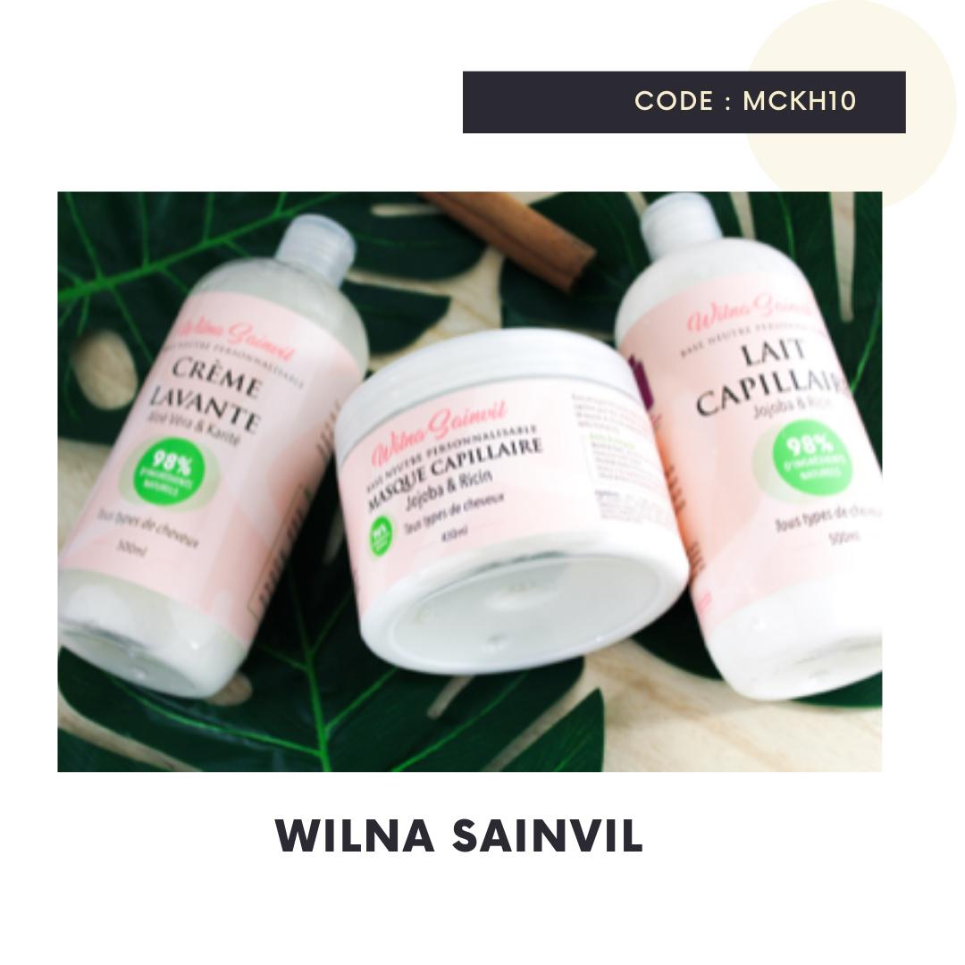 Code promo Wilna Sainvil